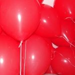 Red balloons, rising...??????????