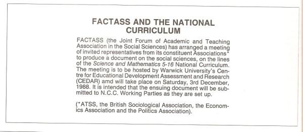 F HB 1988 SST Vol18 No1 FACTASS Report